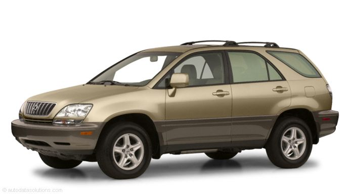 Lexus rx 2001 photo - 4