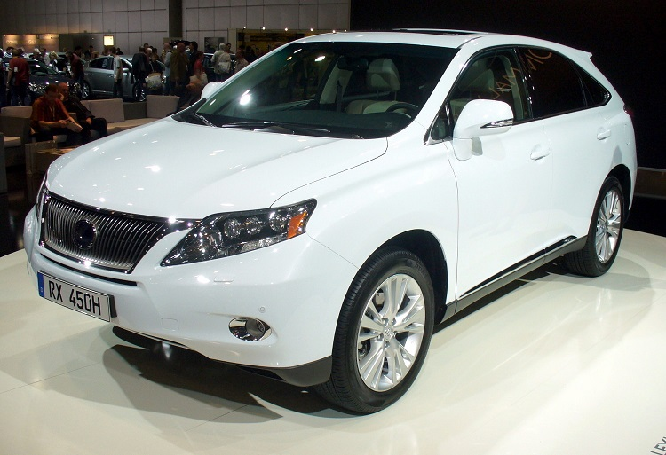 Lexus RX 450 H 2014 photo - 3