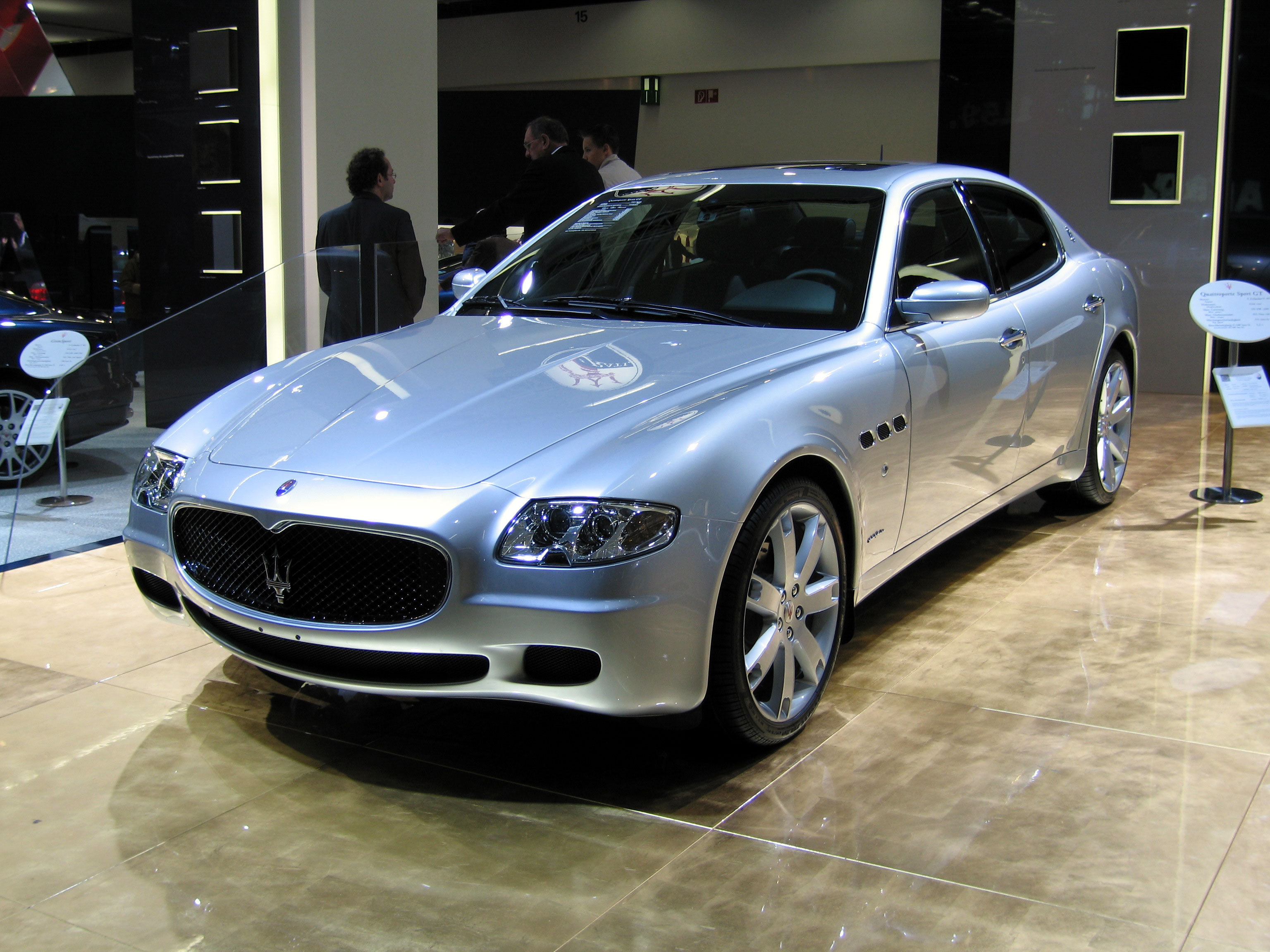 maserati quattroporte 2005 review amazing pictures and images look at the car. Black Bedroom Furniture Sets. Home Design Ideas