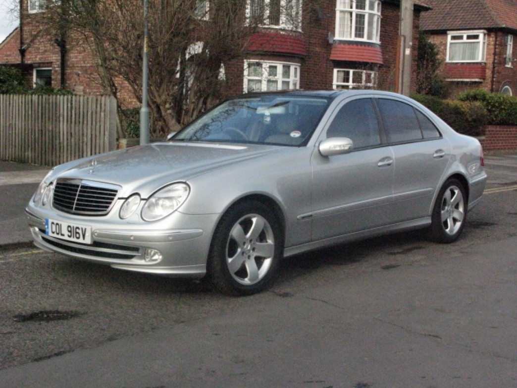 Mercedes Benz E320 2003 Review Amazing Pictures And Images Look At The Car