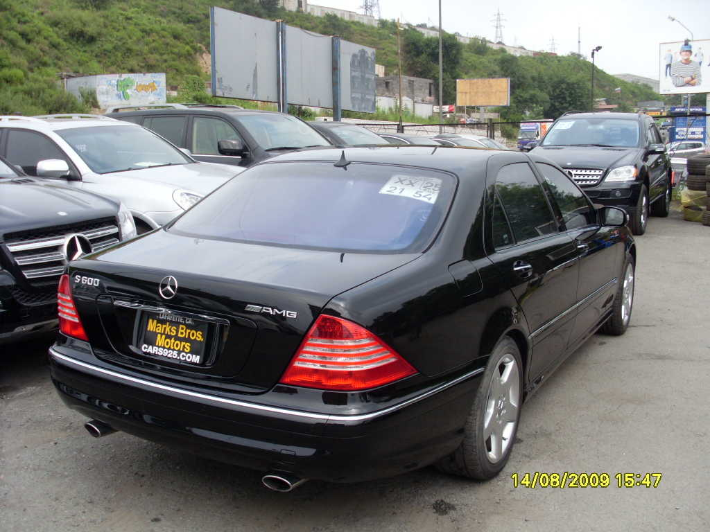 2005 s500 review gallery for Mercedes benz s class 2005 for sale