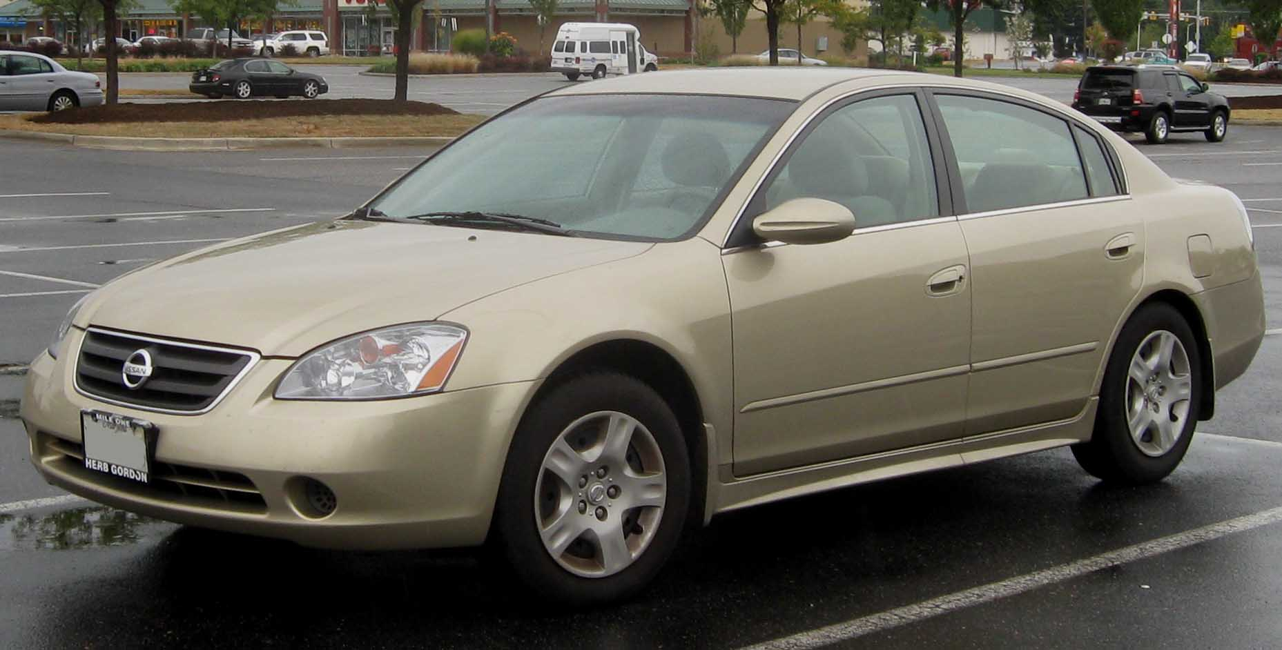 Nissan Altima 2002 photo - 3