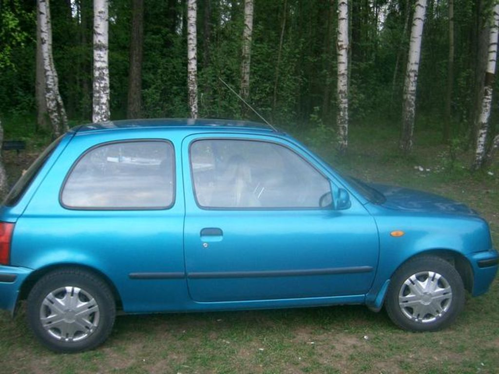 Nissan March 1998 photo - 1