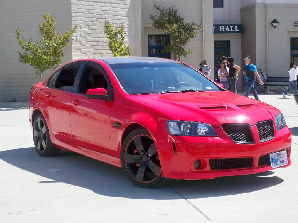 Pontiac G8 2006 Review Amazing Pictures And Images