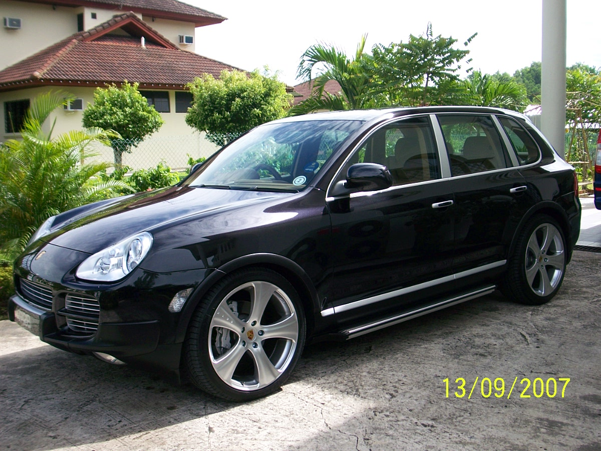 porsche cayenne turbo s 2006 review amazing pictures and images look at the car. Black Bedroom Furniture Sets. Home Design Ideas