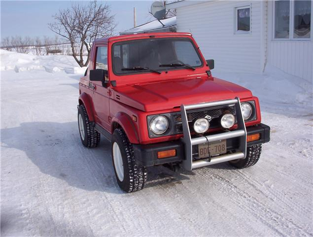 Suzuki samurai 1997 photo - 1