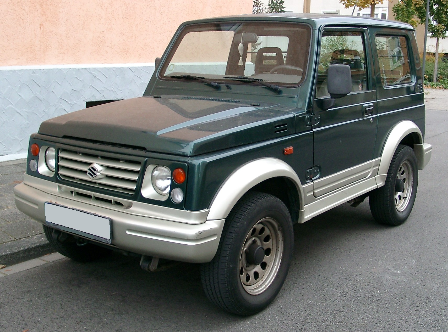 Suzuki Samurai 2000 photo - 3