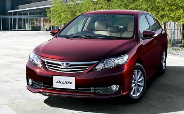Toyota Allion 2015 Review Amazing Pictures And Images