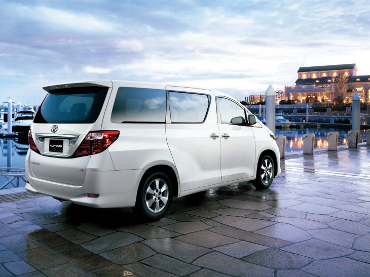 Toyota alphard 2012 photo - 6