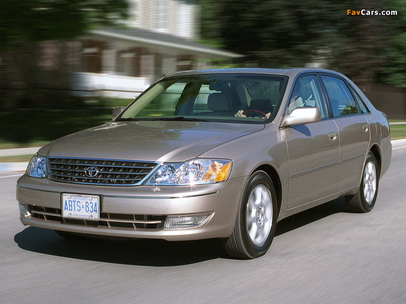 2003 toyota avalon review