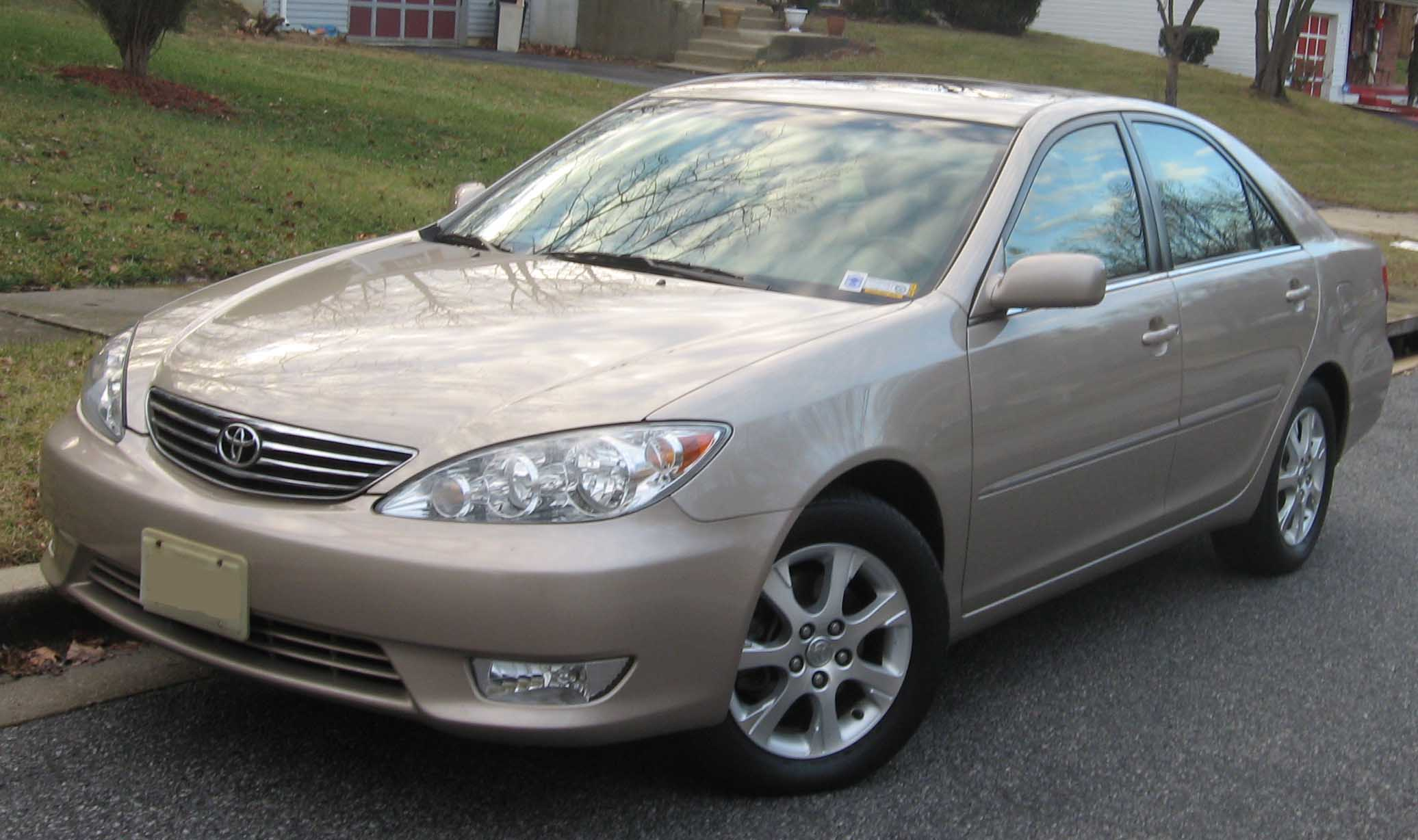 Video Of Toyota Camry 2002