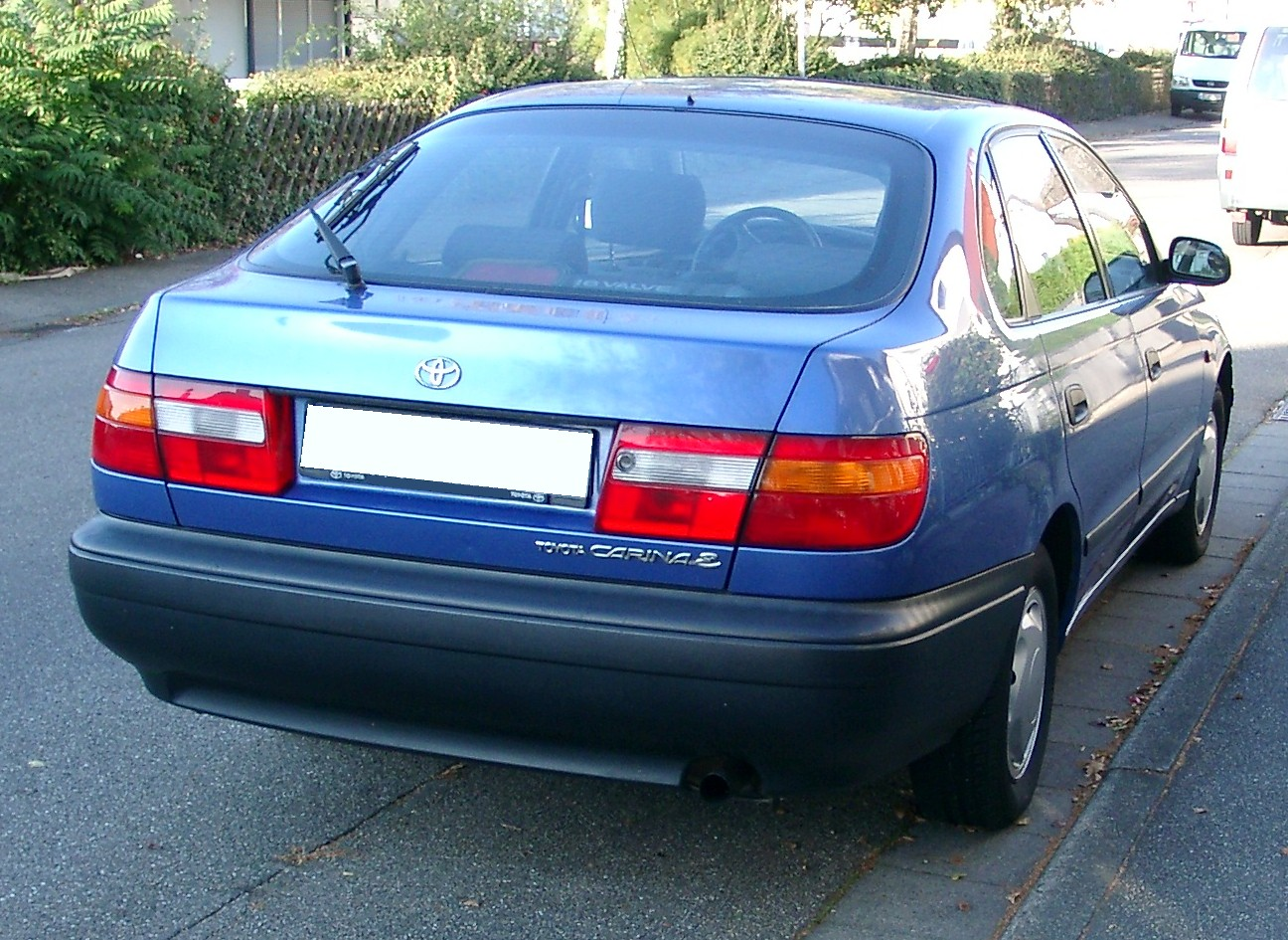 Toyota carina 2014 photo - 3