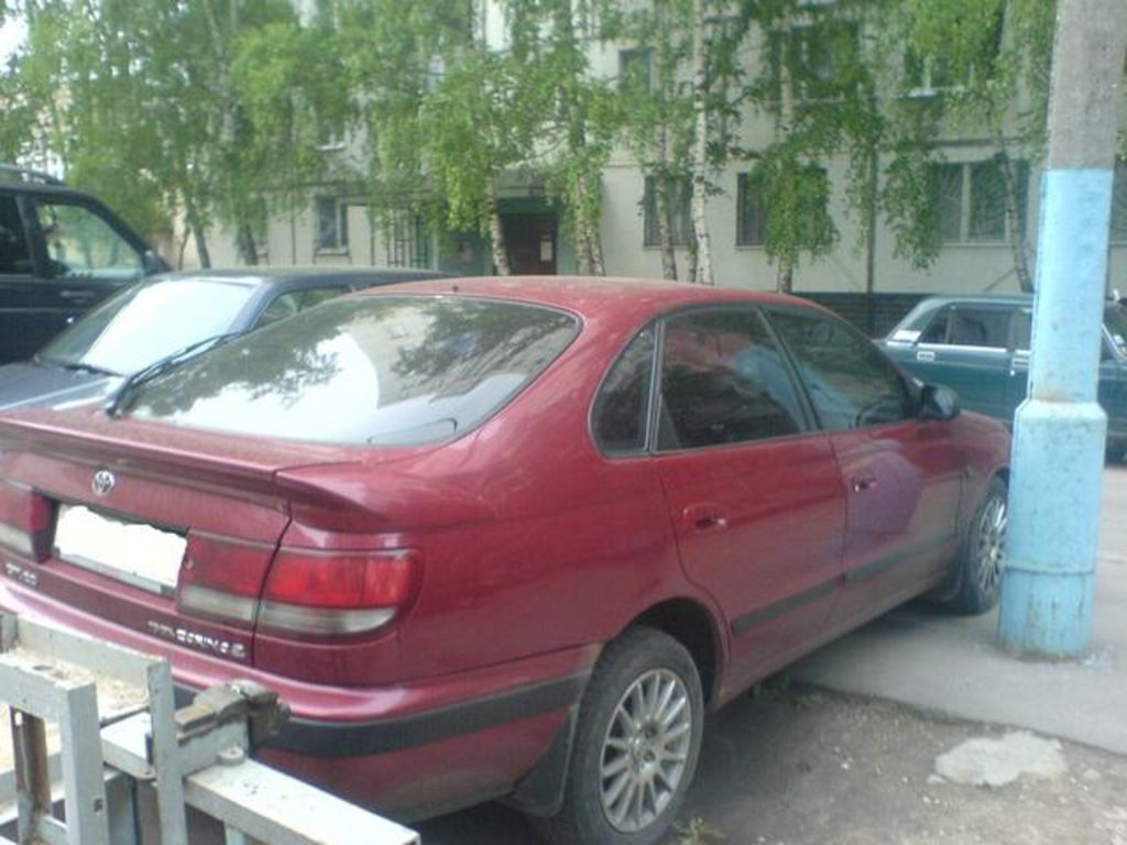 Toyota carina e 1994 photo - 3