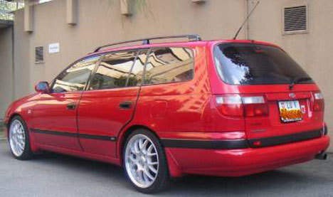 Toyota carina e 1994 photo - 4