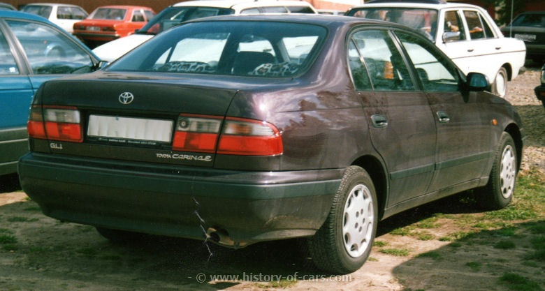 Toyota Carina E 1996 photo - 5