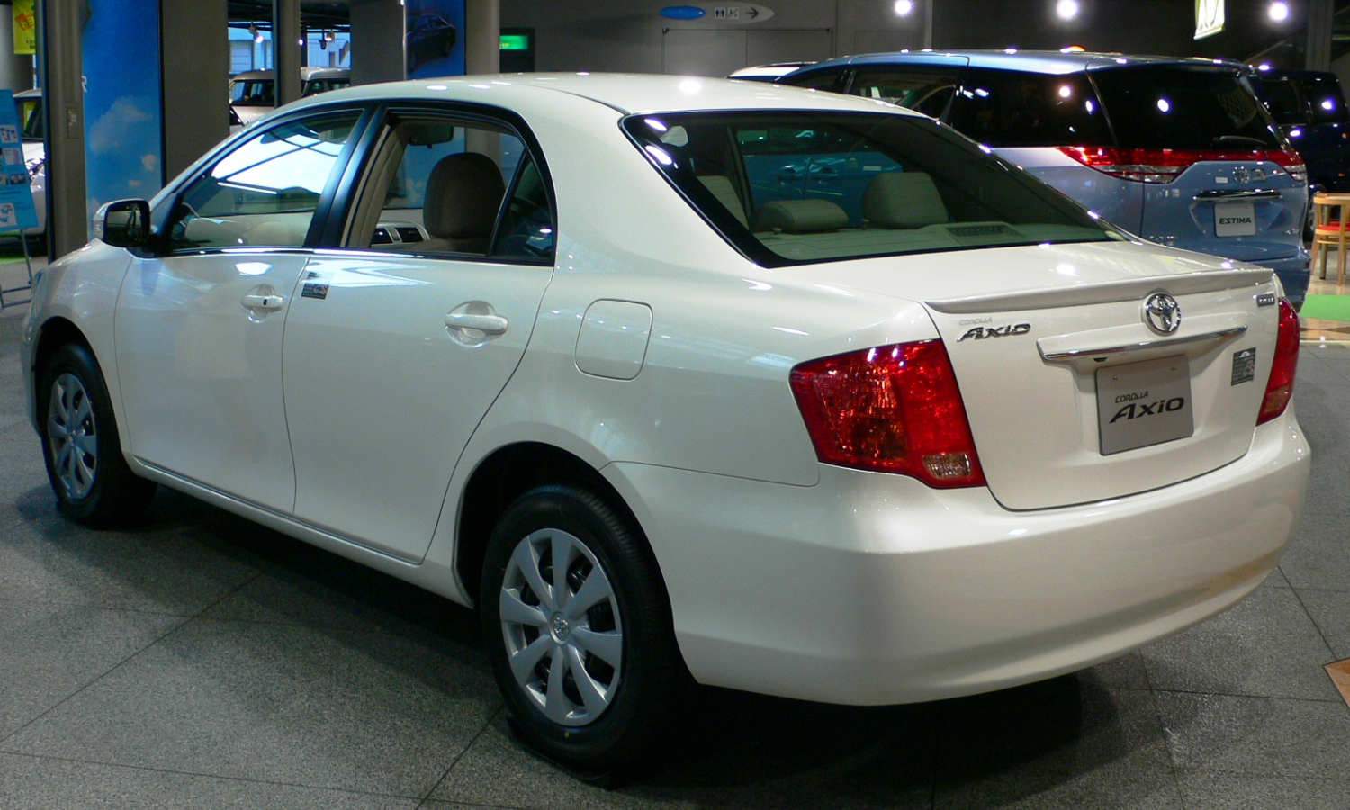Toyota corolla axio 2008 photo - 3