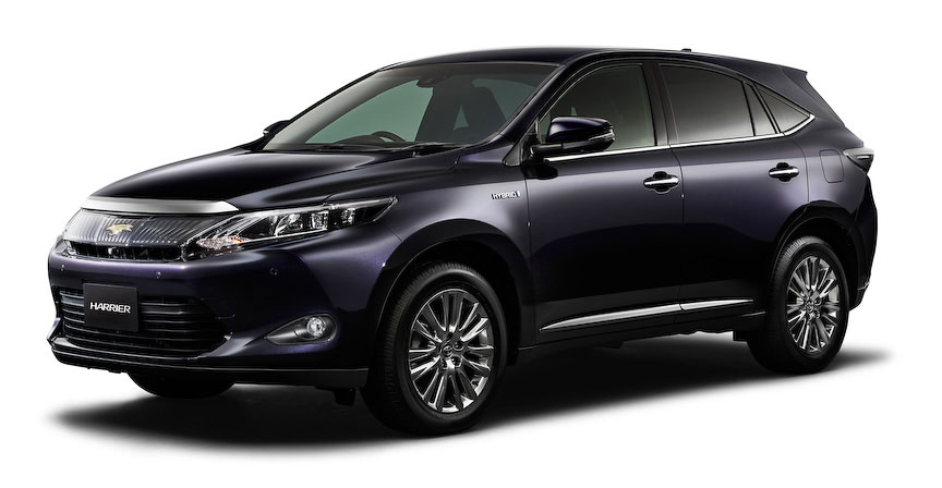 Toyota Harrier 2012 photo - 4