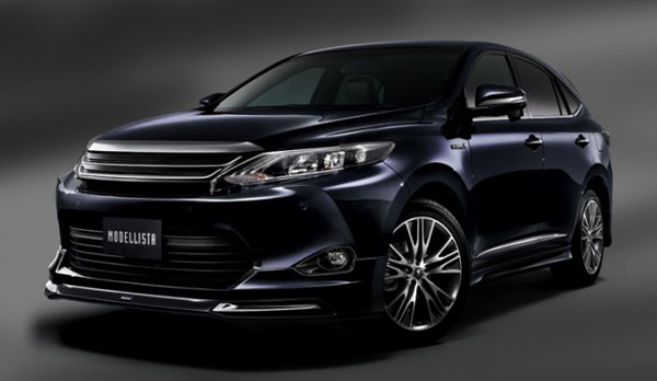 Toyota Harrier Hybrid 2015 photo - 2