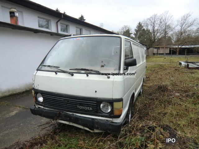Toyota Hiace 1989 photo - 5