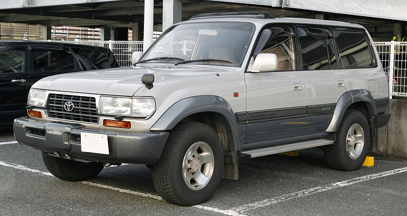 Toyota Land Cruiser Prado 1996 photo - 2