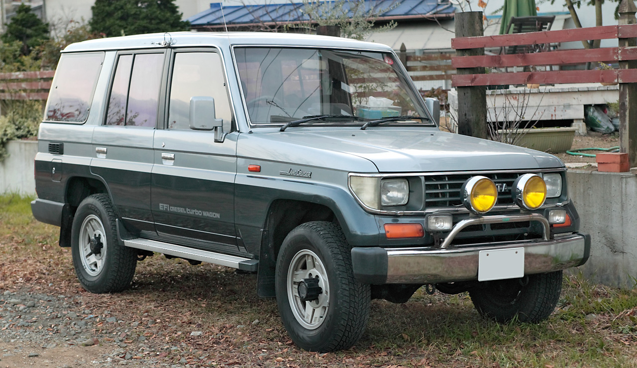 Toyota Land Cruiser Prado 1996 photo - 5