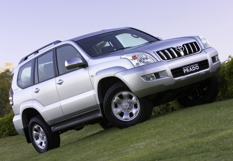 Toyota Land Cruiser Prado 2000 photo - 4