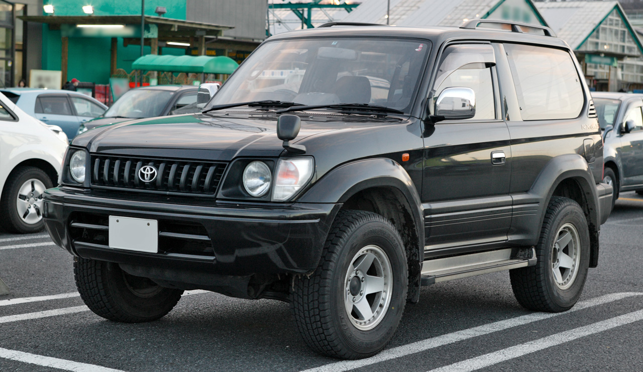 Toyota Land Cruiser Prado 2001 photo - 4