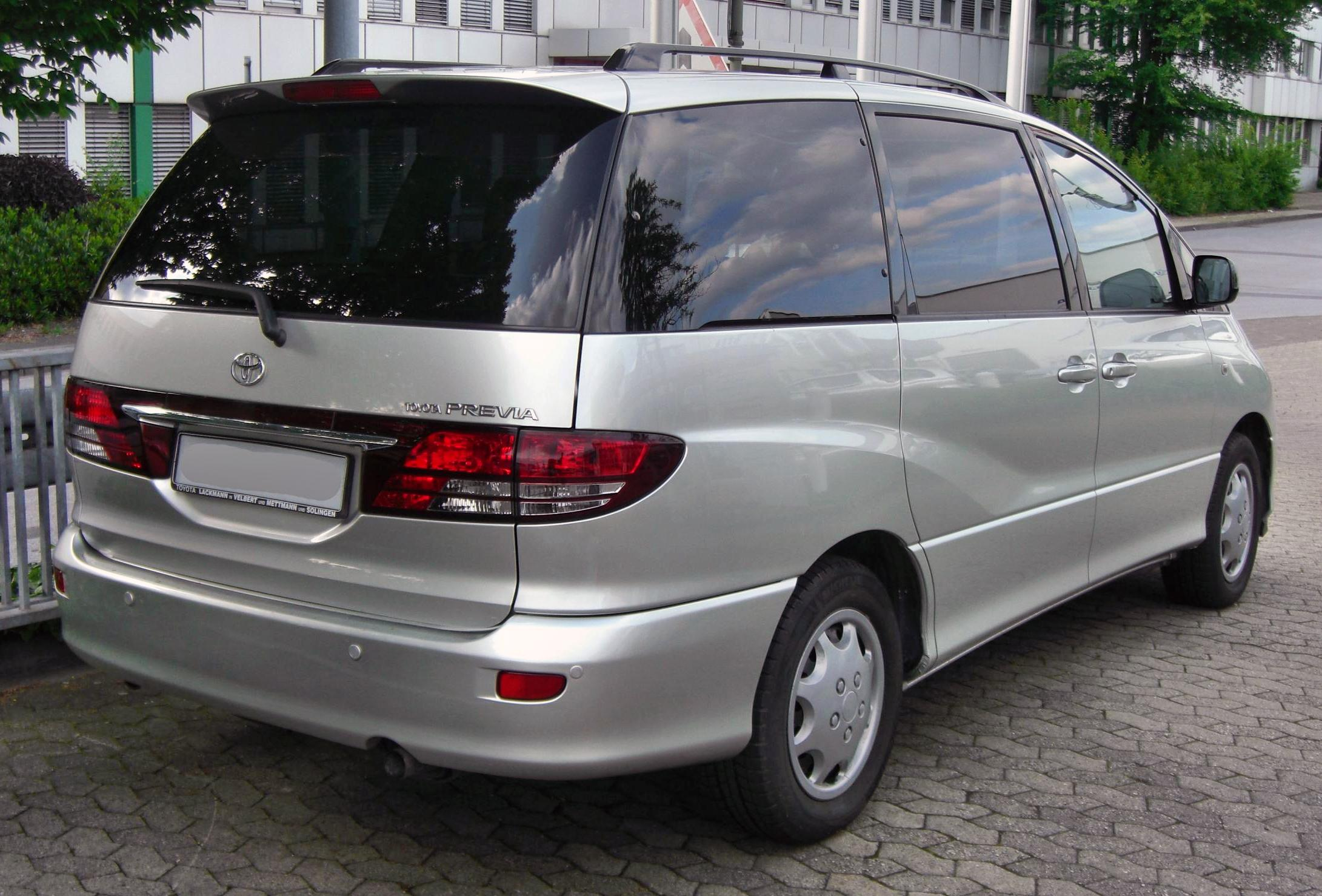 Toyota Previa 2005 Review Amazing Pictures And Images Look At