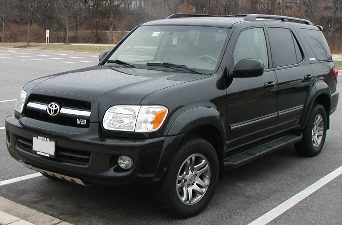 Toyota Sequoia 2003 photo - 3