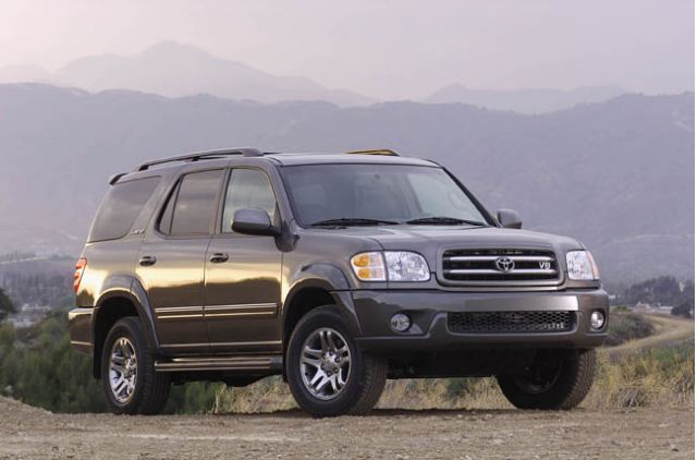 Toyota Sequoia 2003 photo - 4