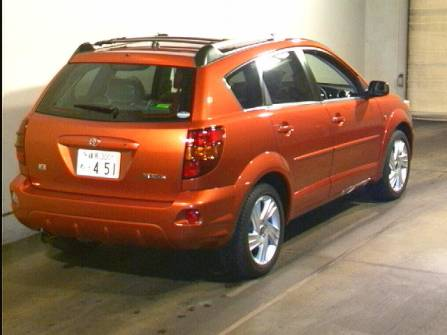 Toyota voltz 2005 photo - 3