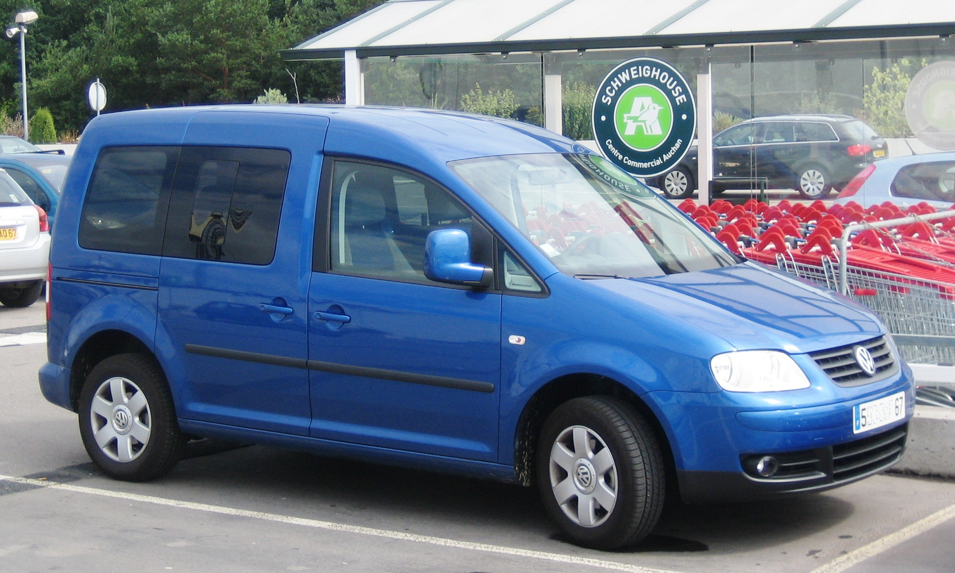 Volkswagen Caddy 2008 photo - 1