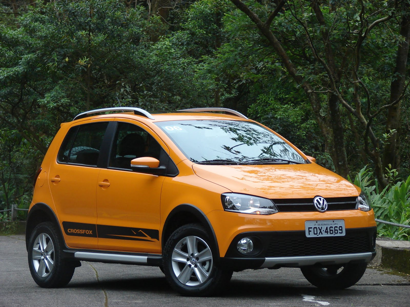 Volkswagen CrossFox 2007 photo - 3