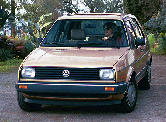 Volkswagen Golf 1986 photo - 2