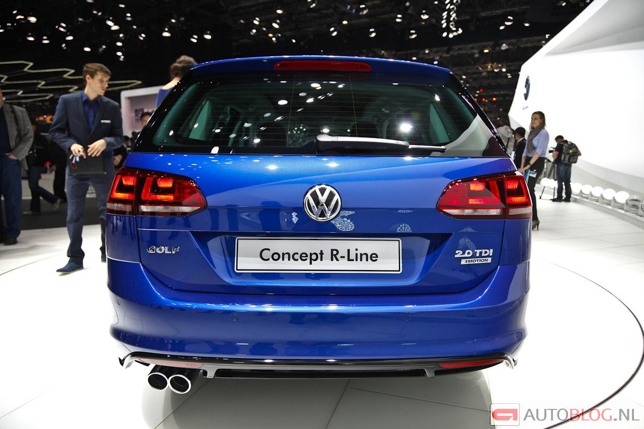 Volkswagen Golf Variant 2015 photo - 1