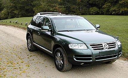 Volkswagen Touareg 2003 photo - 3