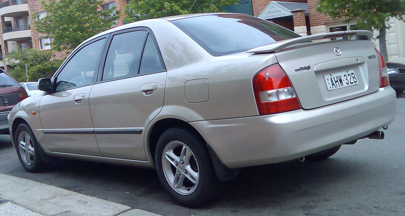 Mazda 323 2001 Review Amazing Pictures And Images Look