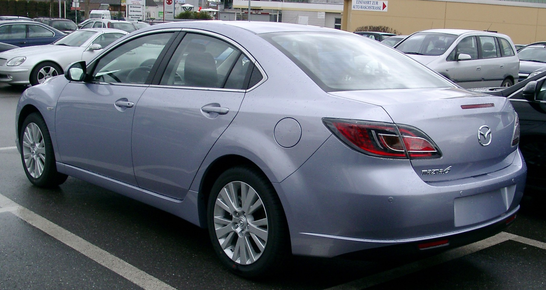 mazda 6 2008 review amazing pictures and images look at the car. Black Bedroom Furniture Sets. Home Design Ideas
