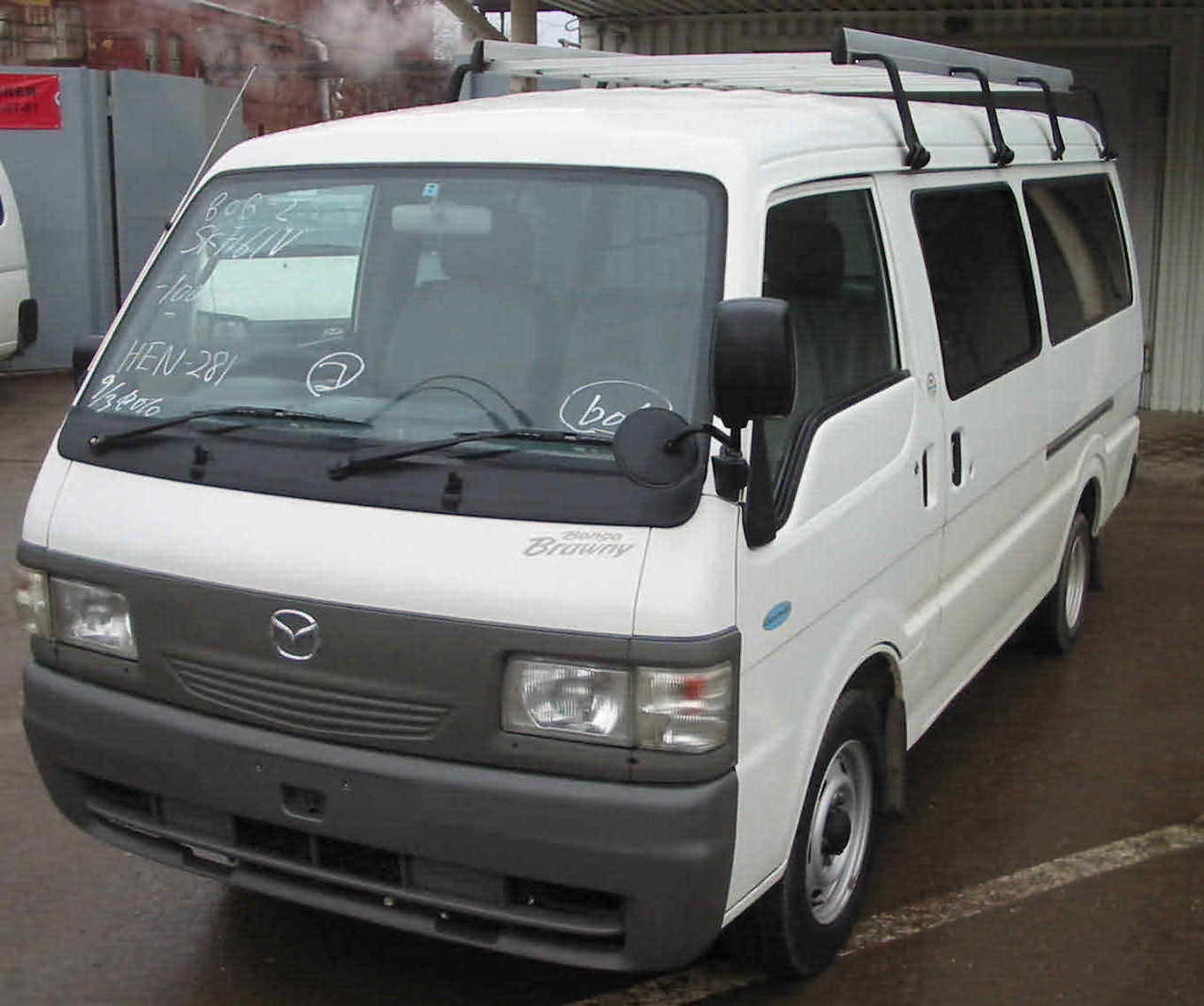 Mazda bongo 1996 photo - 2