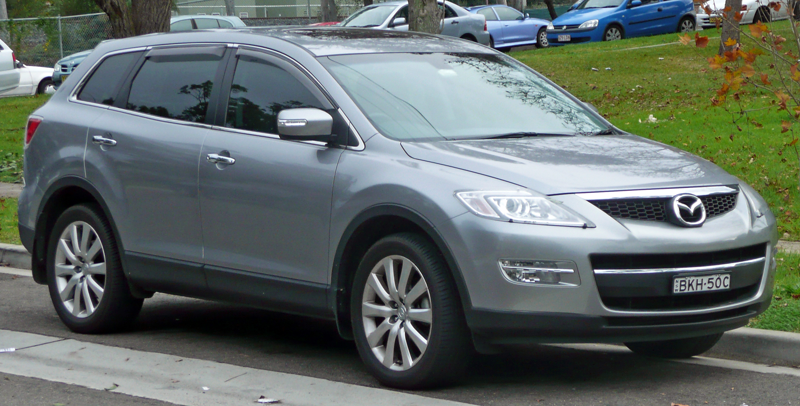 mazda cx 9 2007 review amazing pictures and images look at the car. Black Bedroom Furniture Sets. Home Design Ideas