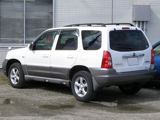 Mazda tribute 2000 photo - 3