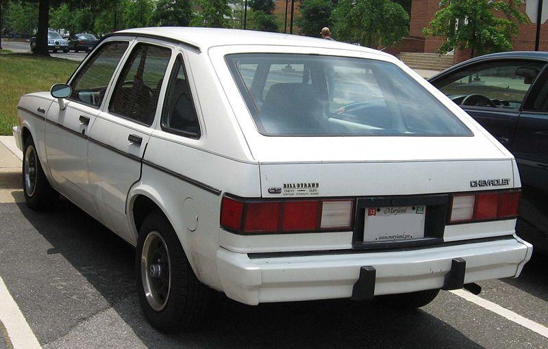 Chevrolet Chevette 1984 Photo - 1