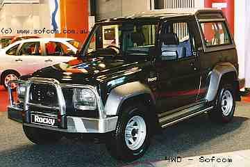 Daihatsu Rocky 1990 Photo - 1
