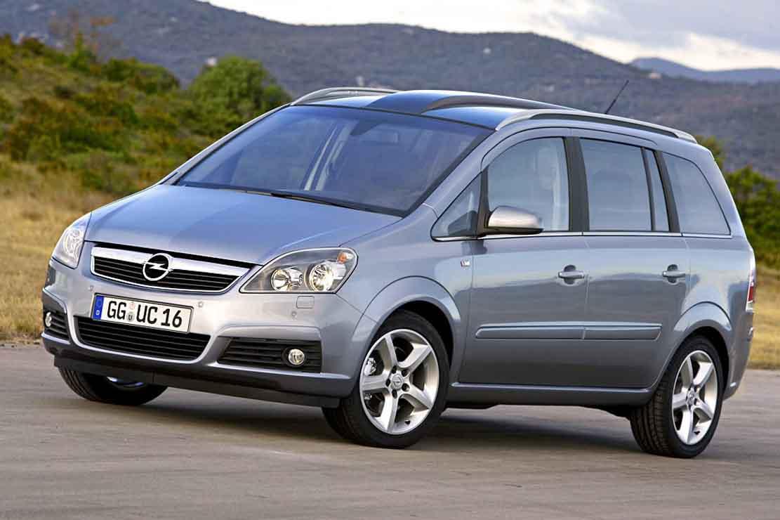 Opel Zafira 2002 Photo - 2
