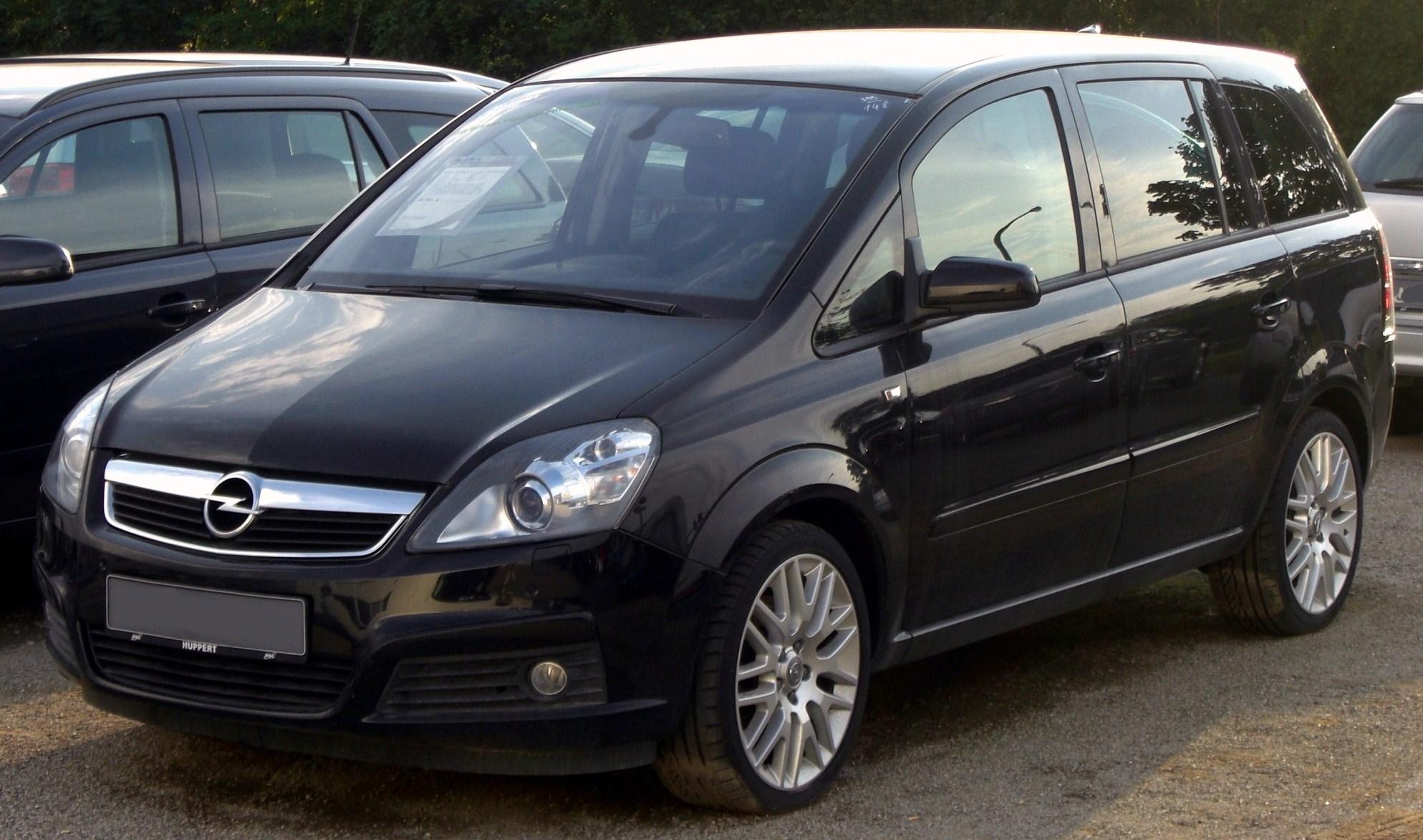 Opel Zafira 2010 Photo - 1
