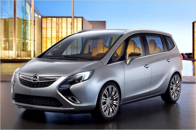 Opel Zafira 2012 Photo - 1