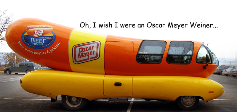 Oscar Mayer Weinermobile 1987 Photo - 1