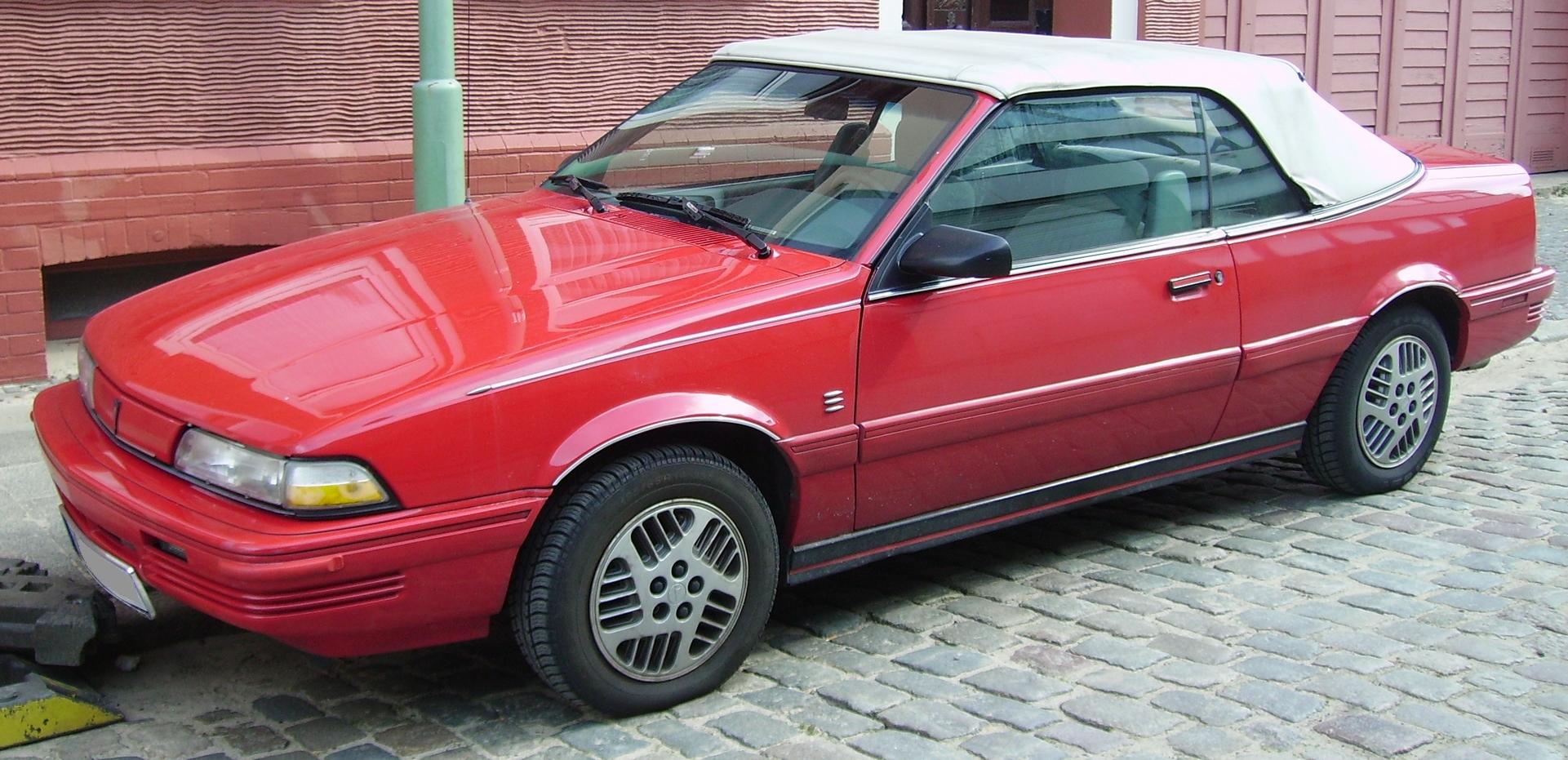 Pontiac Sunbird 1989 Photo - 1