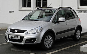 Suzuki SX4 Crossover 2008 Photo - 1