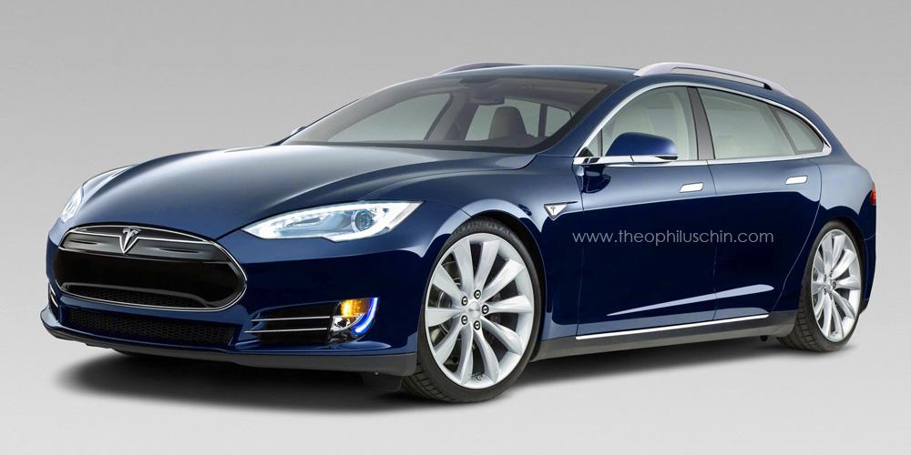 Tesla Model S 2015 Photo - 1